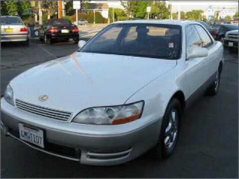 1993 Lexus ES 300 - Santa Ana CA - YouTube