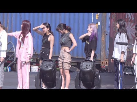 181201 Kpop concert on GUAM YES OR YES rehearsal MOMO fancam 예스오어예스 리허설 모모 직캠
