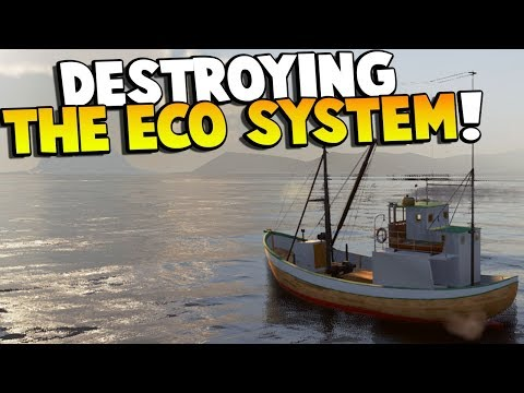 I DESTROYED THE ECO SYSTEM AND HAD TO GET BOAT TOWED! - Fishing: Barents Sea Gameplay
