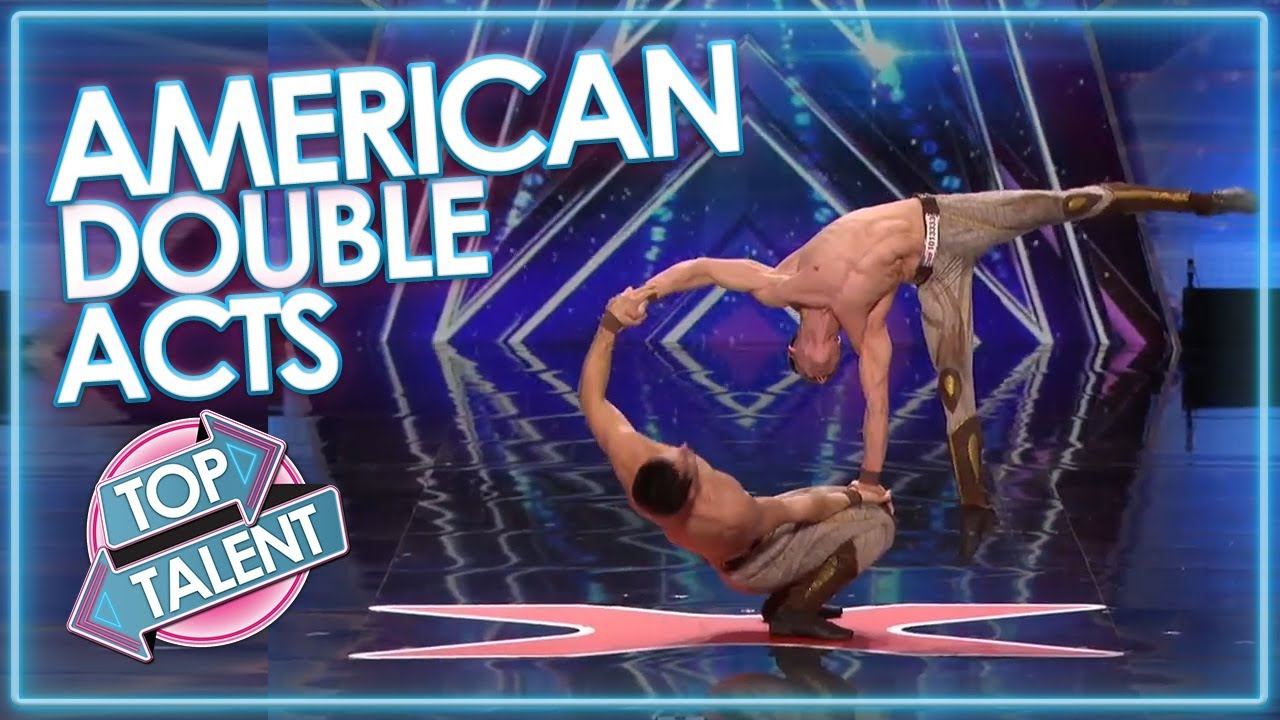 USA DOUBLE ACTS! America's Got Talent, X Factor USA and American Idol | Top Talent
