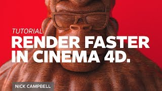 Render up to 300% Faster with this One Cinema 4D Physical Render Tip