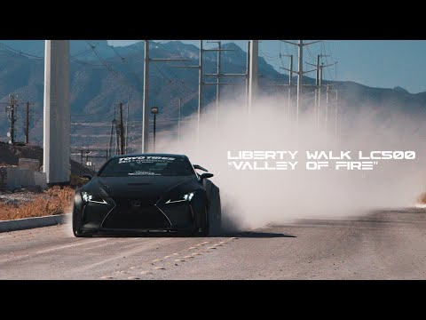 Jaycray's Liberty Walk LC500 | 'VALLEY OF FIRE' | HALCYON (4K)