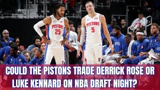 The Detroit Free Press Suggests Three Potential NBA Draft Night Trades