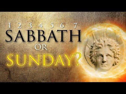 Sabbath or Sunday?