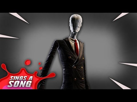 Slender Man In Fortnite Song Scary Fortnite Crossover