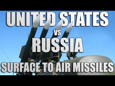 US vs Russia: Surface to Air Missiles Comparison