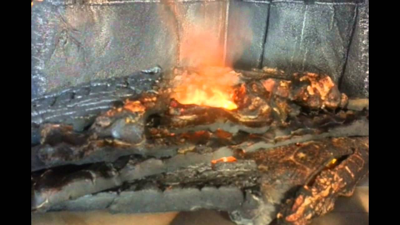Realistic fake fire - YouTube