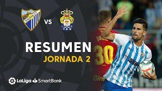Resumen de Málaga CF vs UD Las Palmas (1-1)