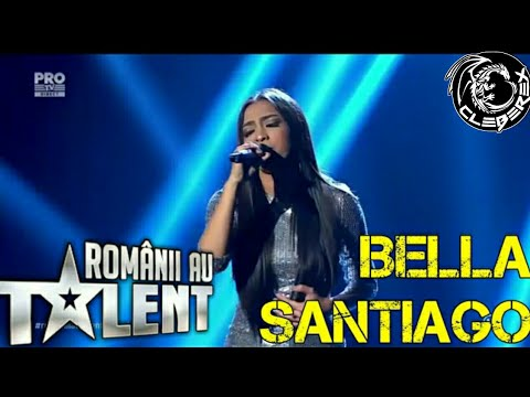 Bella Santiago at Romanii au talent (semifinala 12/05/17)