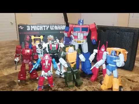 NEW Transformers Final Victory FV-01 Warpath FV-02 Brawn FV-03 Huffer,In stock