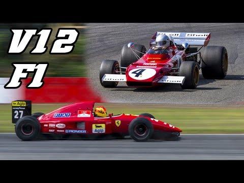 Modena Motorsport F1 demo - 312 B2, 643, F92a, 412 T1 and F310B