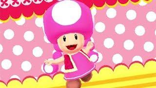 Mario Golf: World Tour - DLC Character Footage (Toadette, Nabbit, Rosalina, Gold Mario)