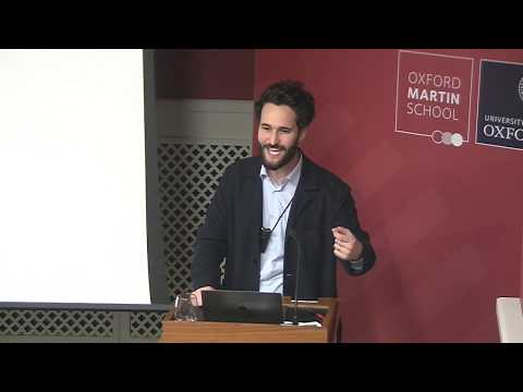 """""""A world without work: technology, automation and how we should respond"""" with Daniel Susskind"""