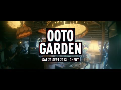 Alejandro Mosso live at OOTO Garden Ghent 2013