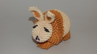 How To Make 3d Origami Bunny Part1