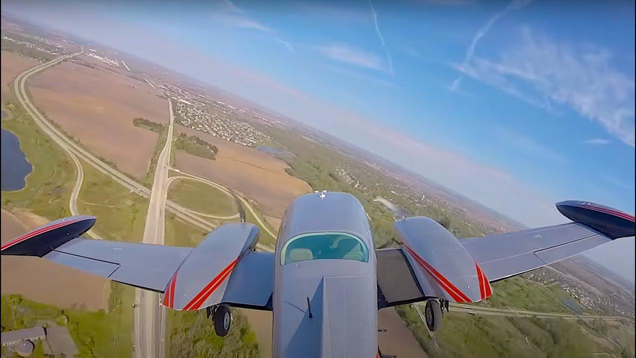 Gusty Crosswind Landing Returning from Kentucky