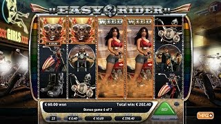 EASY RIDER ™ - a 5-reel online slot game at Goldruncasino