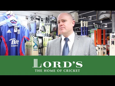 New Cricket Equipment Shop At Lord's   Lord's Buying Guide