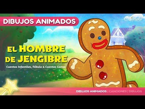 El Hombre De Jengibre | Cuentos Infantiles En Español