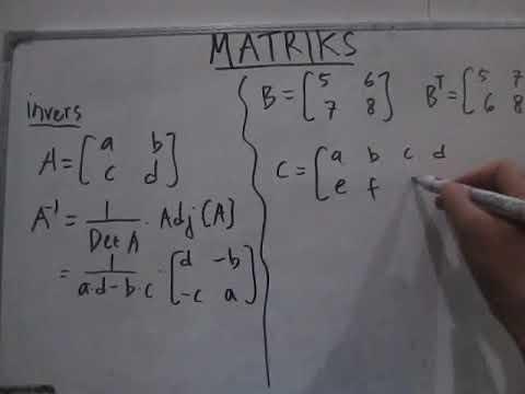 cara-mencari-invers-matriks-|-transpose-suatu-matriks
