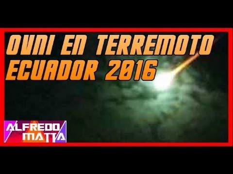 MISTERIOSA LUZ SISMO TERREMOTO ECUADOR 2016 #PrayForEcuador