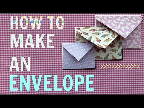 HOW TO MAKE AN ENVELOPE (easy!) ☆