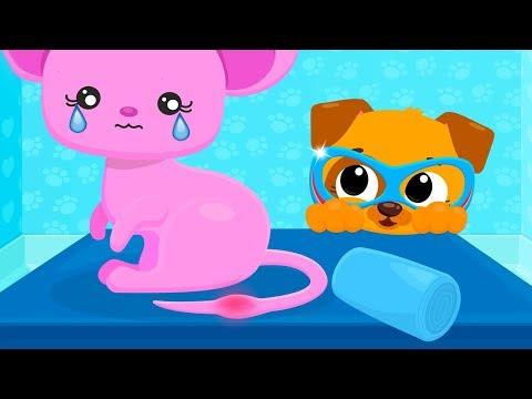 Fun Baby Care Kids Game - Cute & Tiny Superhero - Baby Care, Construction Trucks Fun Pet Care Game