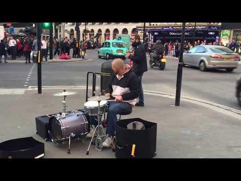 Yoann Julliard on Tottenham Court road