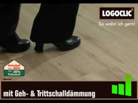 laminat im tanz test vergleich mit und ohne trittschalld mmung youtube. Black Bedroom Furniture Sets. Home Design Ideas
