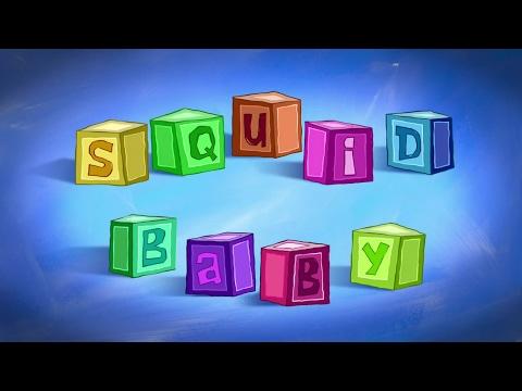 SpongeBob SquarePants - Squid Baby - Title Card (Greek)