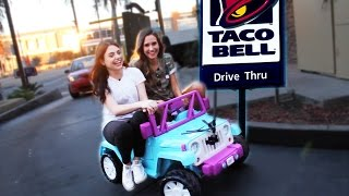One of Amy Ordman's most viewed videos: DRIVING THRU TACO BELL IN A TOY CAR w SHANNON! ~episode 2~