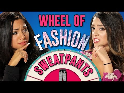 Thumbnail: HOW TO STYLE SWEATPANTS | Wheel Of Fashion w/ Niki and Gabi