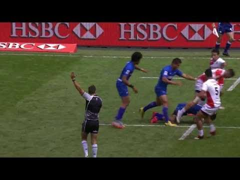 Spain vs Samoa Rugby 7s ( 13th Place Semi Final ) London Sevens Rugby 2017