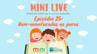 MINI LIVE IPNONLINE Episódio 25: Bem Aventurados os puros (Lic. Davi Medeiros) - 30/06/2020
