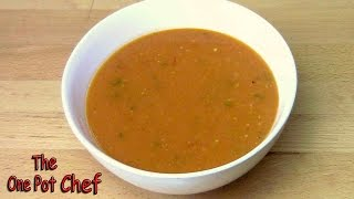 Thick Tomato Soup - Recipe