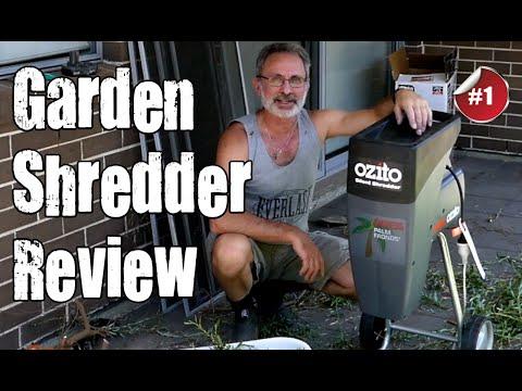 Ozito 2400W Silent Garden Shredder Review
