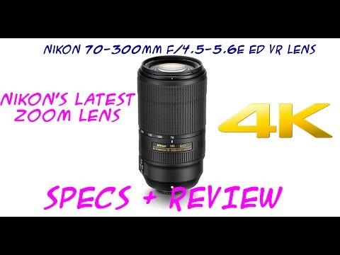 NIKON'S LATEST LENS - GREAT VALUE - NIKON AF-P NIKKOR 70-300mm f/4.5-5.6E ED VR LENS