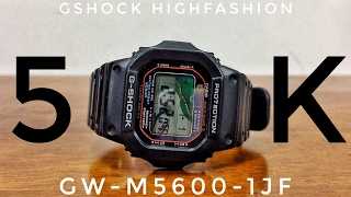 G-Shock GW-M5600-1JF Multiband 5 & Tough-solar watch review | Might be more than that...