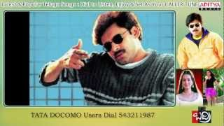 Badri Songs With Lyrics - Vevela mainala Song - Pawan Kalyan, Ameesha Patel, Renu Desai