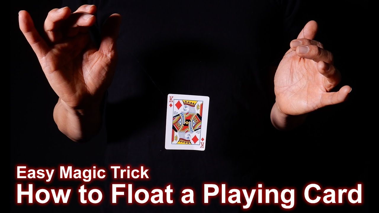 Easy Magic: How to Levitate a Card From Hand to Hand - YouTube