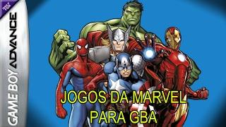 JOGOS DA MARVEL PARA GBA
