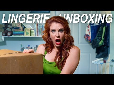 The Plumber Unboxes Lingerie