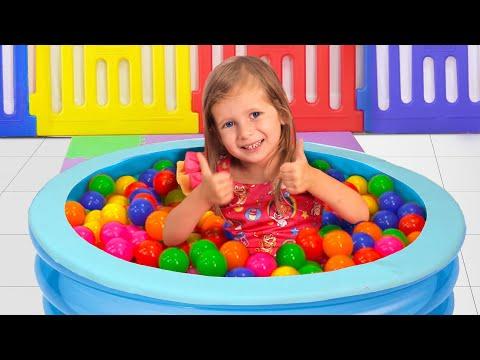 Видео: Пол - это лава! Сборник детских песен. Песни для детей от Майи и Маши