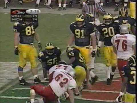 1998 Rose Bowl: Michigan 21 WSU 16 (PART 2)