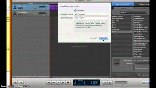 Convert GarageBand File to MP3