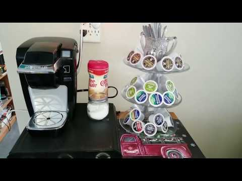 Coffee  Station Update with a DIY Three Tiered Tray