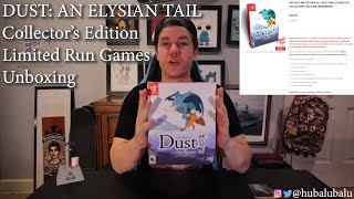 DUST: AN ELYSIAN TAIL Collector's Edition - Limited Run Games Nintendo Switch #Unboxing