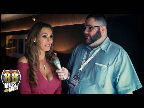 Tanya Tate interview at the Adult Entertainment Expo 2017