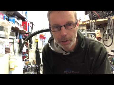 Cleaning your disc brake pads