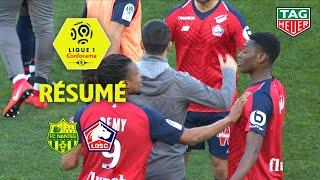 FC Nantes - LOSC ( 2-3 ) - Résumé - (FCN - LOSC) / 2018-19